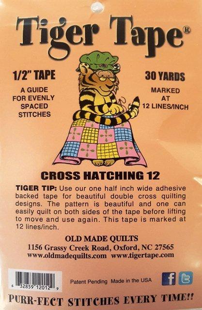 Tiger Tape - 1/2 - 12 lines per inch