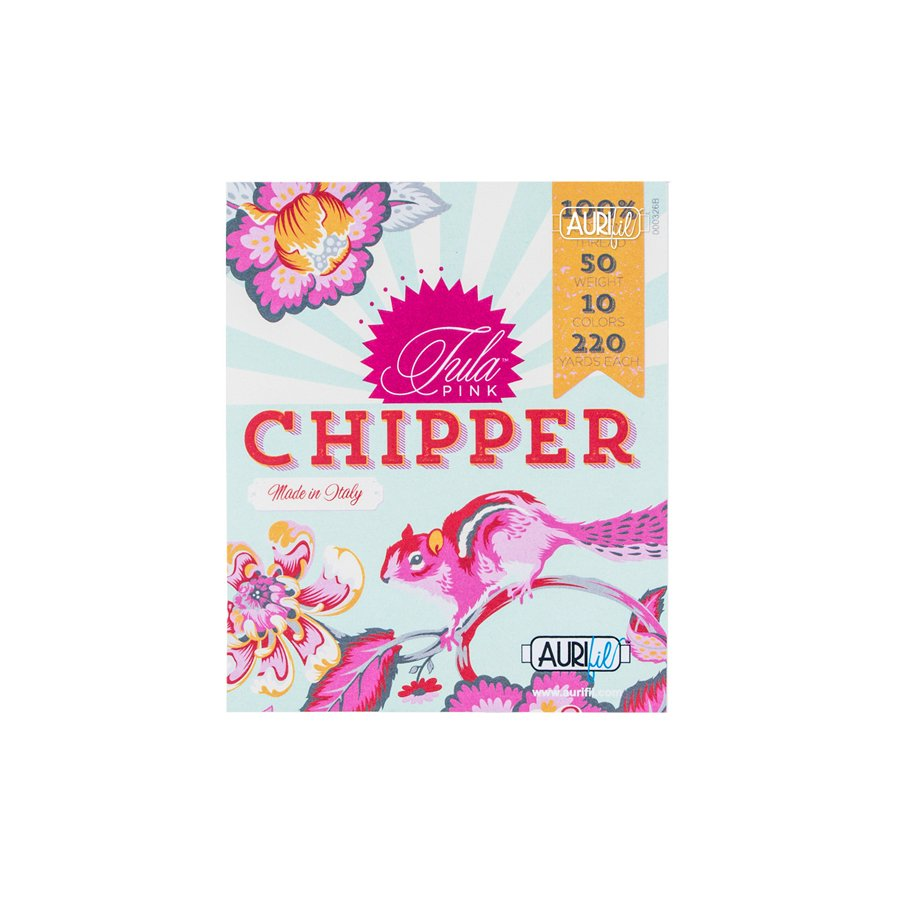 Aurifil Chipper Collection by Tula Pink - Small