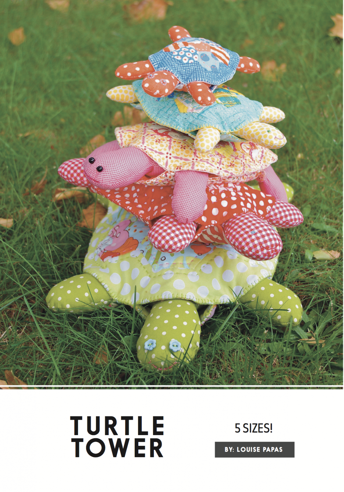 Turtle Tower Pattern by Louise Papas