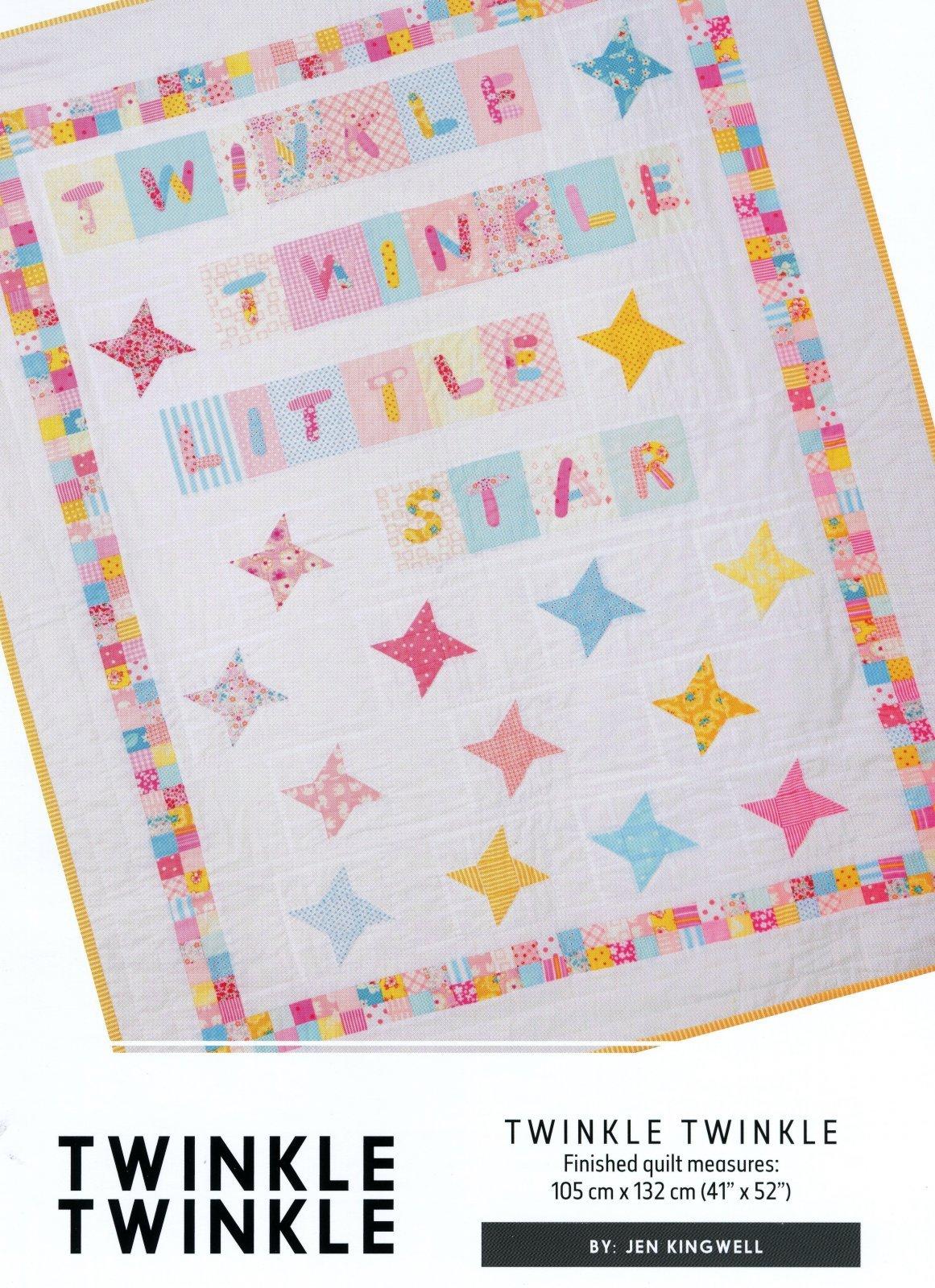 Twinkle Twinkle Pattern By Jen Kingwell
