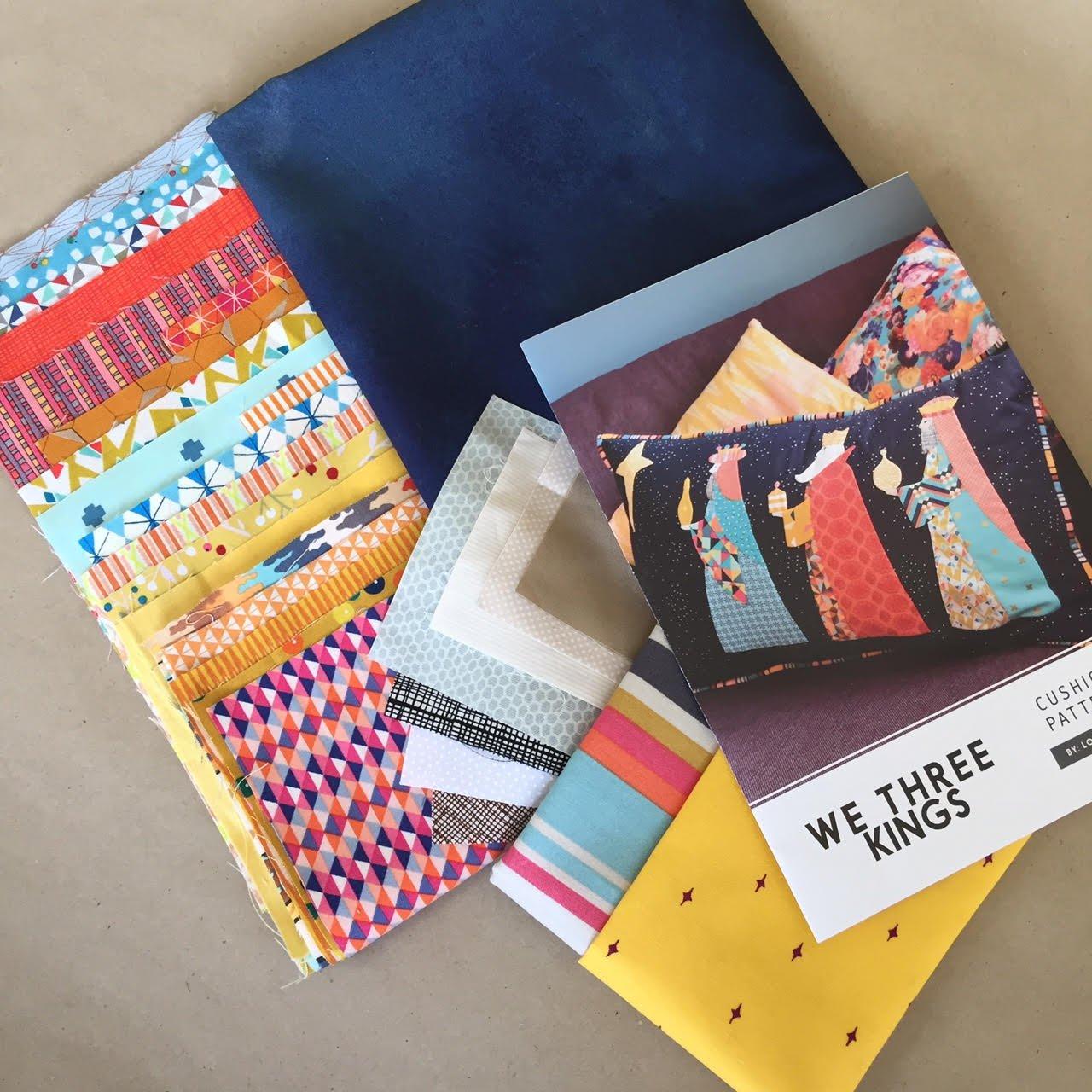 We Three Kings Cushion Kit by Louise Papas