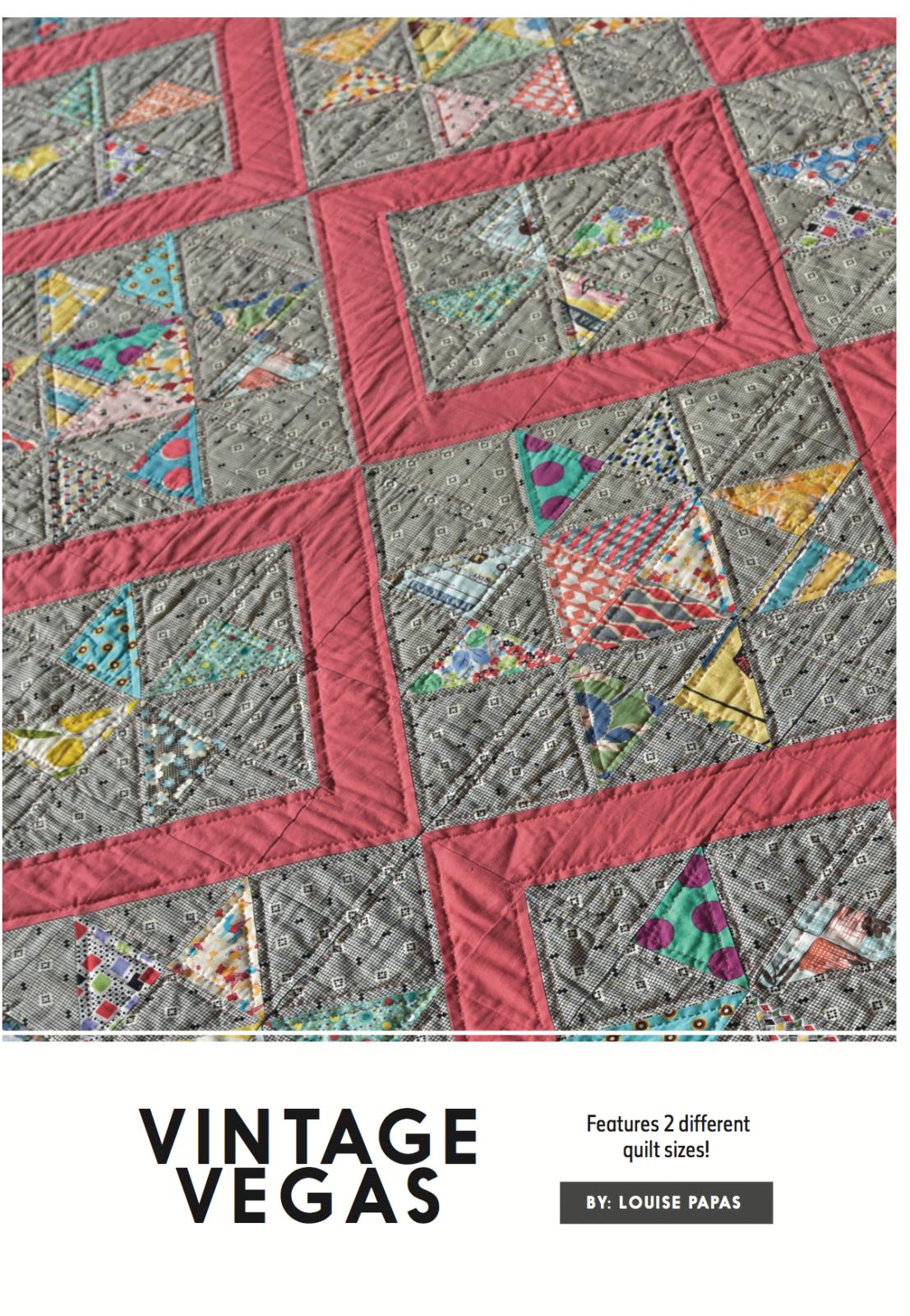Pre Order - Vintage Vegas Pattern by Louise Papas