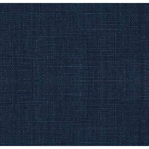 100% Linen dark navy blue / 136cm wide
