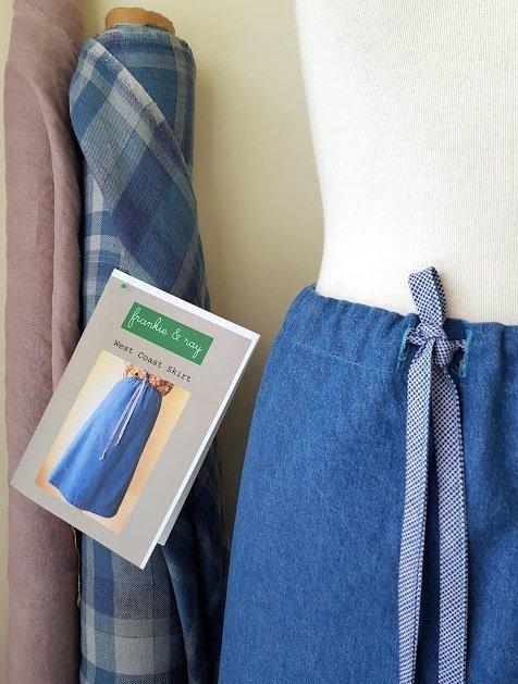 Frankie & Ray - West Coast Skirt Pattern