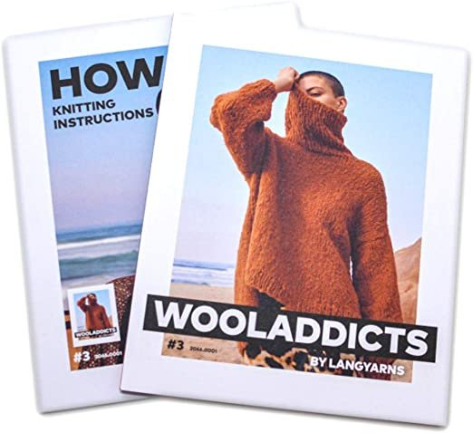 Lang Yarns - Wool Addicts Pattern Book #3