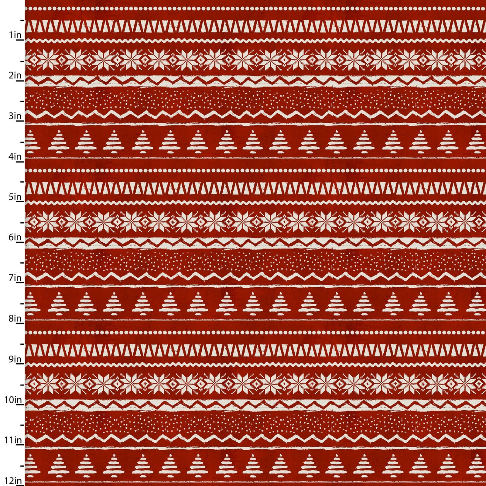 3JINGLEALLWAY 16630 - RED - SWEATER PRINT