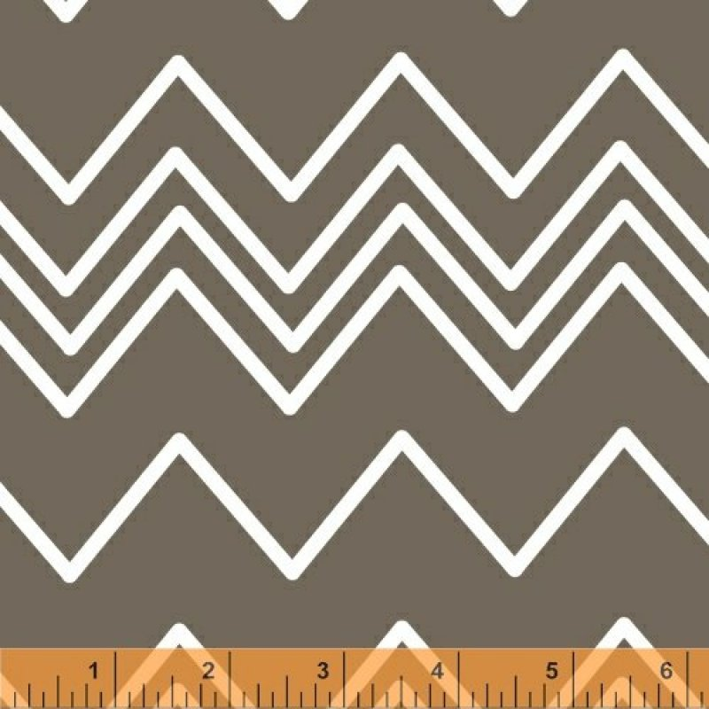 Ziggy - Grey Chevron