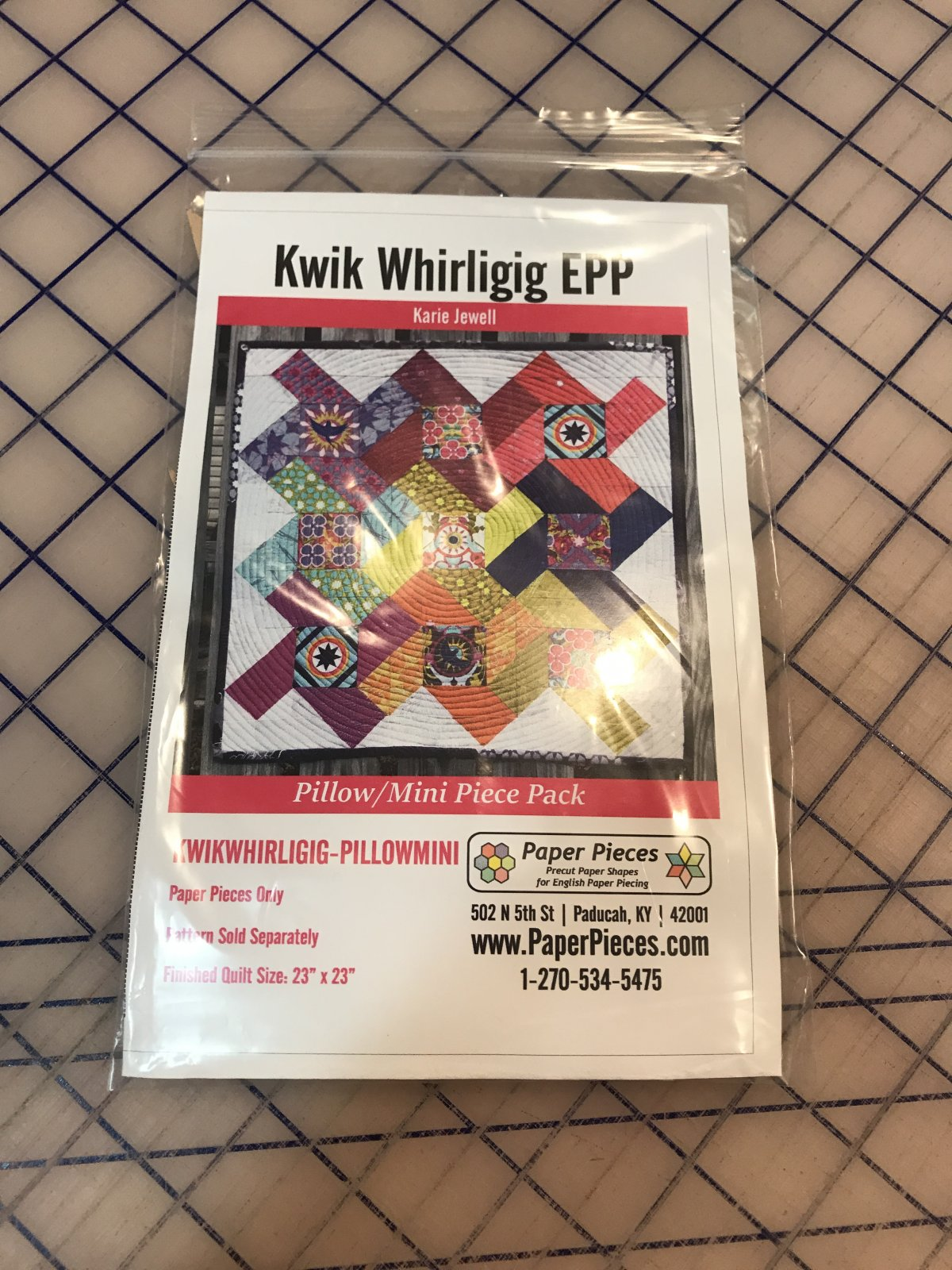 Kwik Whirligig - PIECES PILLOW/MINI