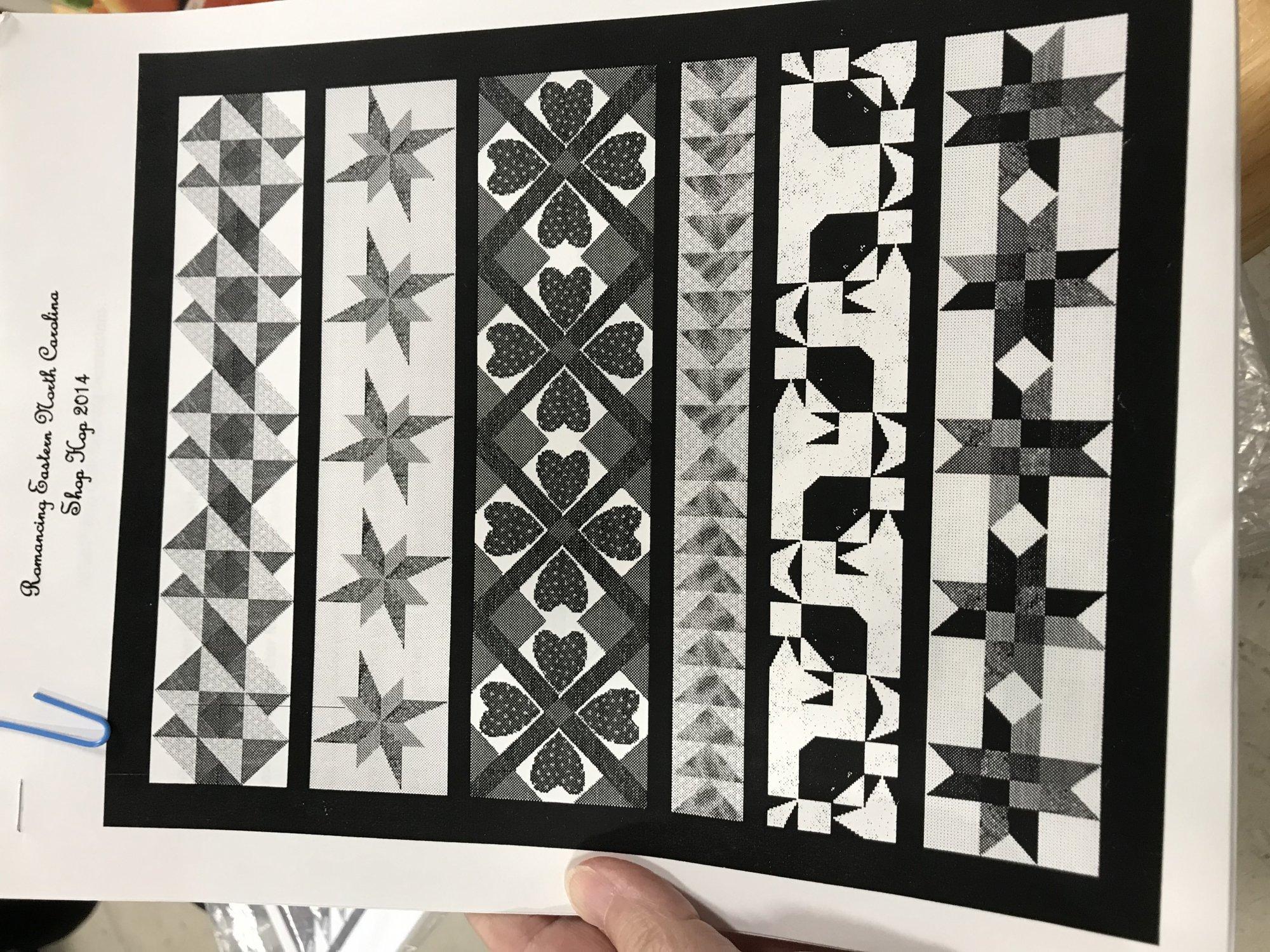 2014 Shop Hop Quilt Pattern