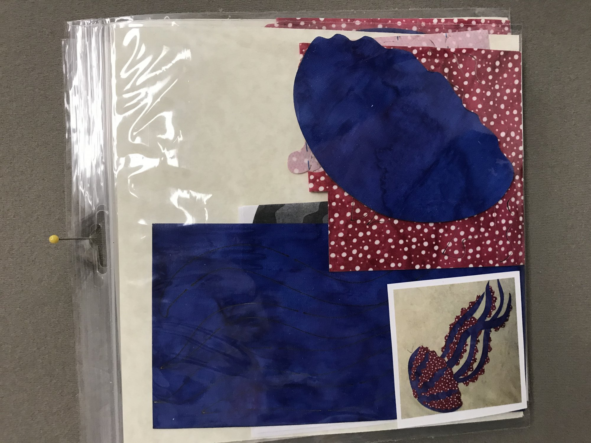 Applique Designs - Laser Cut and Pre Fused - JELLY FISH