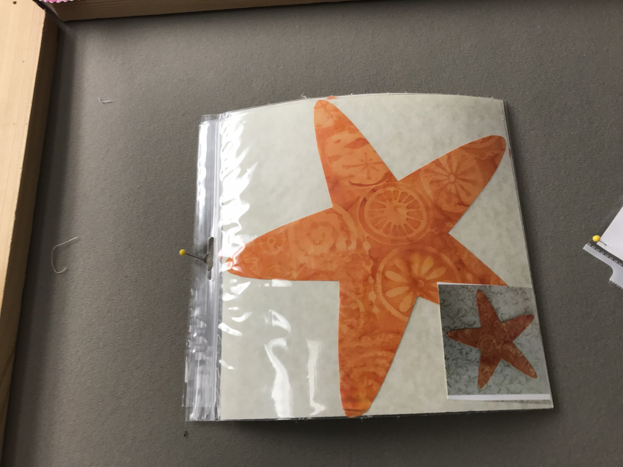 Applique Designs - Laser Cut and Pre Fused - STAR FISH