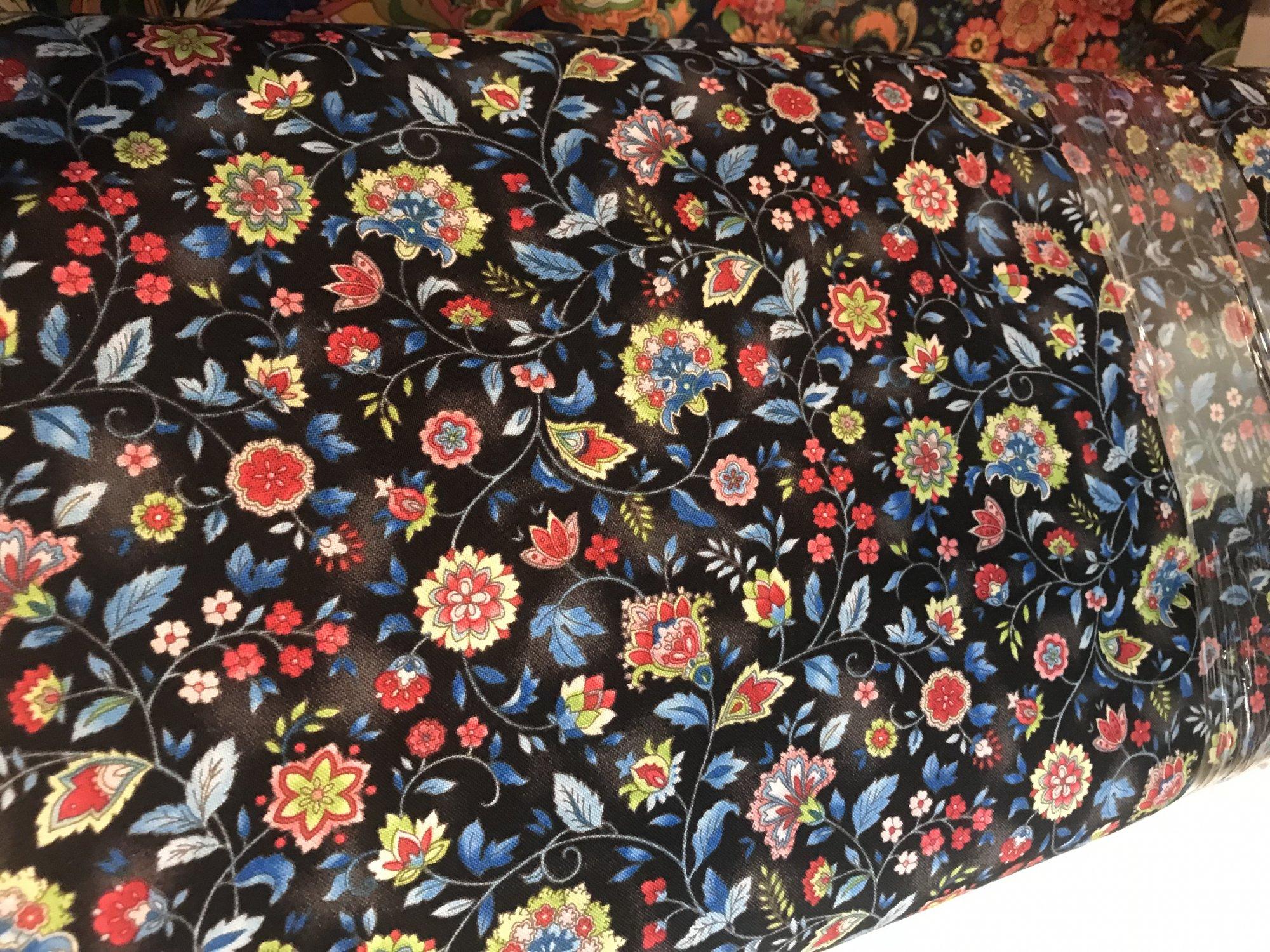 Boho Chic OA6016501 floral blue
