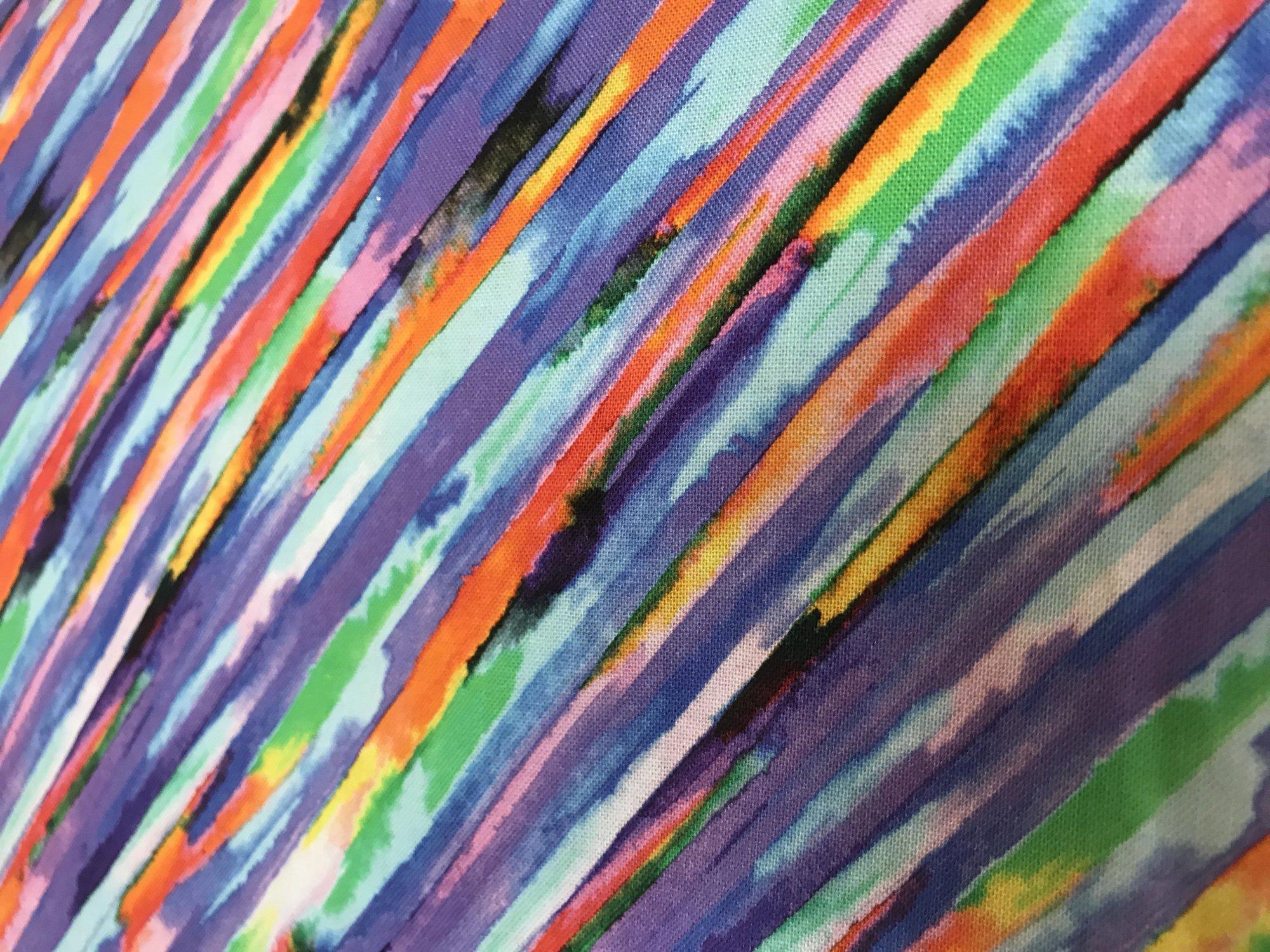 Fantasy OA5919801 Diagonal Stripe Multi