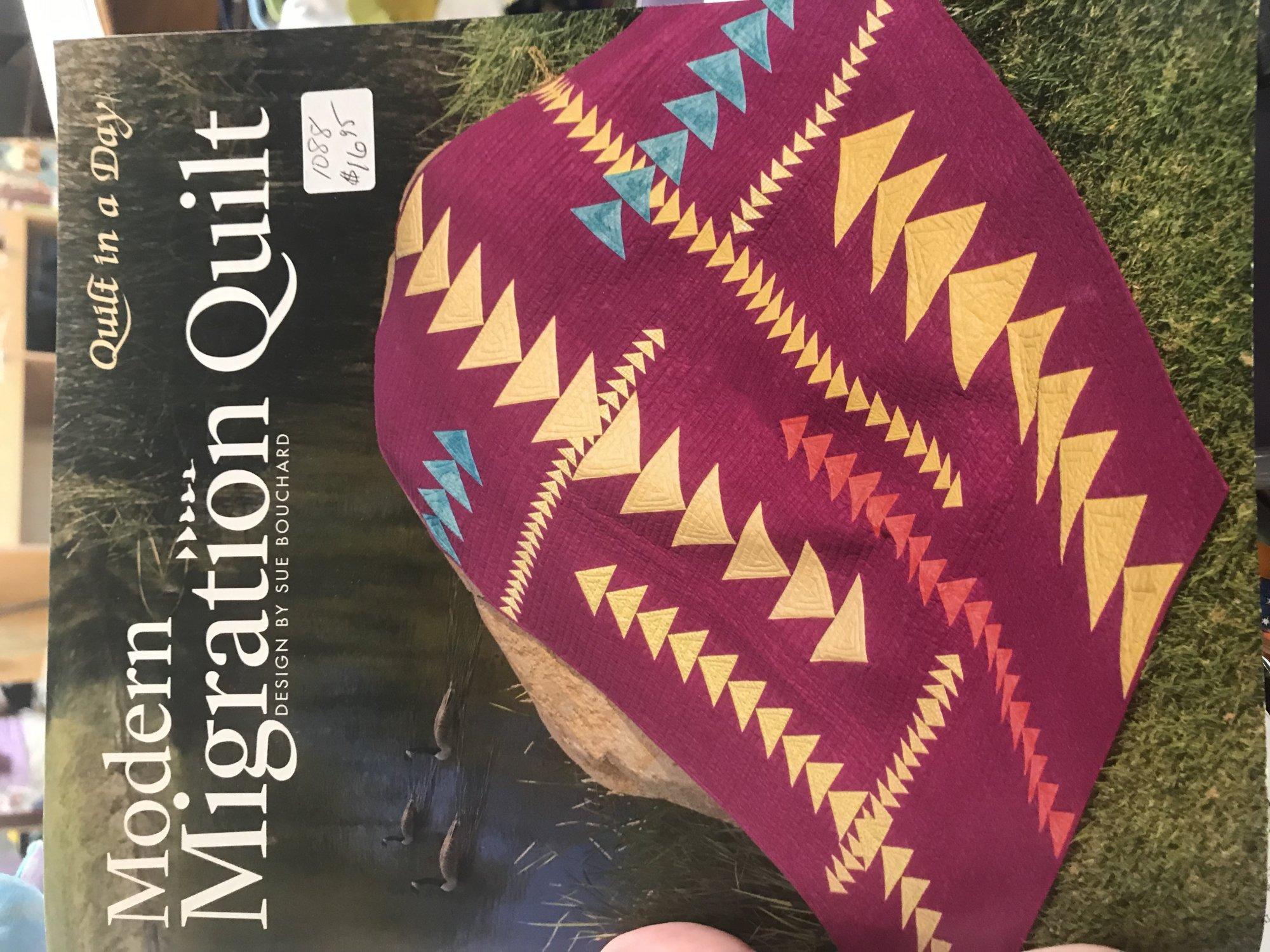 Modern Migration Quilt