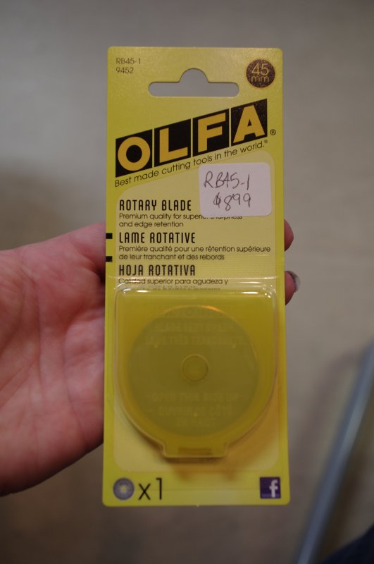 45mm Replacement Blade 1/pk Olfa