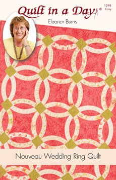 QIAD - Nouveau Wedding Ring Quilt Pattern