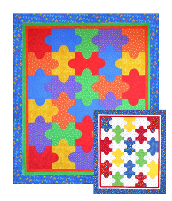 It is a Puzzle Pattern