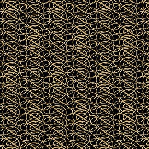YULETIDE - SCROLL 1070-99 BLACK