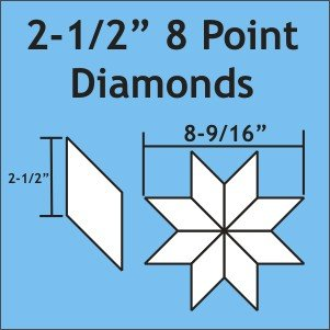 2-1/2 8-Point Diamond