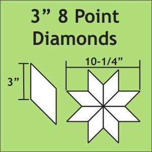 3 8-Pointed Diamond