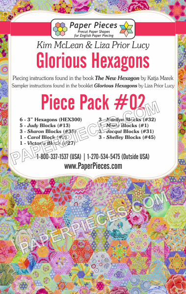 Glorious Hexagons Piece Pack 2