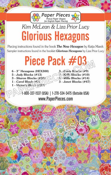 Glorious Hexagons Piece Pack 3