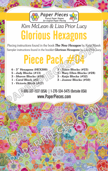 Glorious Hexagons Piece Pack 4