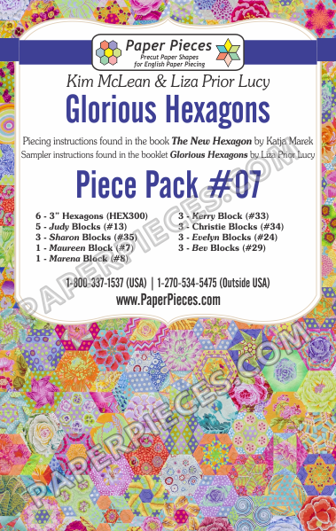 Glorious Hexagons Piece Pack 7