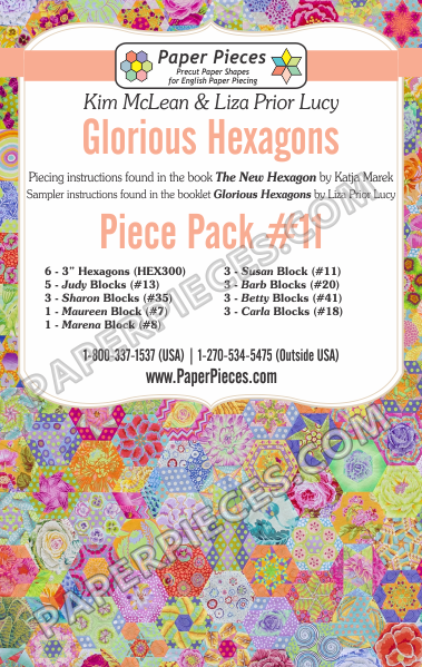 Glorious Hexagons Piece Pack 11