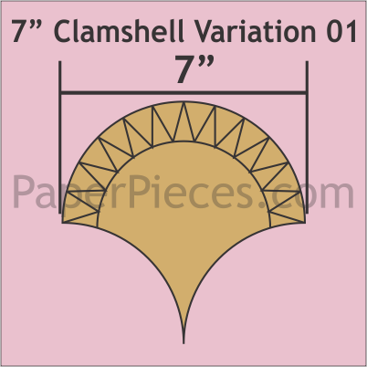7 Clamshell Variation