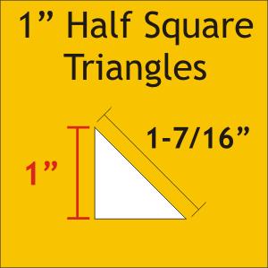 1 Half Square