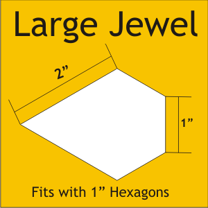 Large Jewel Shape