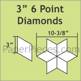 3 6 Pointed Diamond