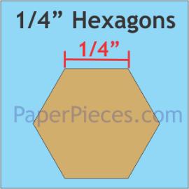 1/4 Hexagon