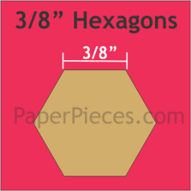 3/8 Hexagon