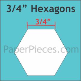 3/4 Hexagon