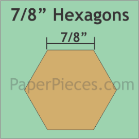 7/8 Hexagon