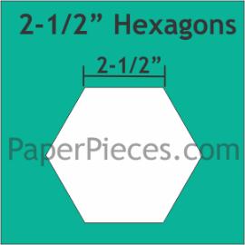 2-1/2 Hexagon
