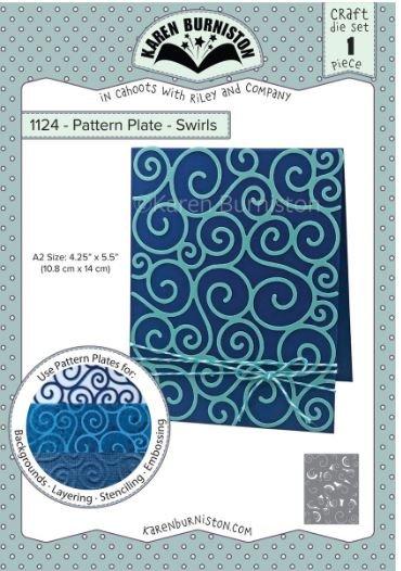 Pattern Plates - Swirls
