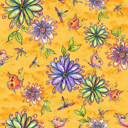 Garden Whimsy Large Floral 31