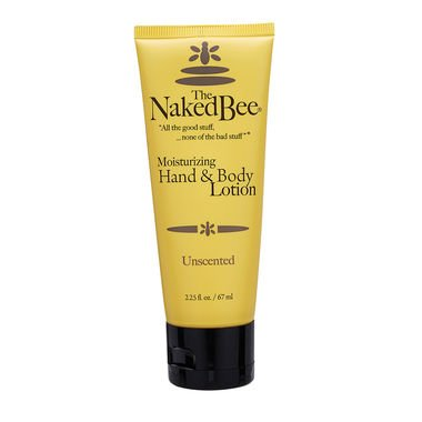 The Naked Bee Hand and Body Lotion - Unscented 2.25 oz.