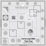 8 inch Curvy Log Cabin Trim Tool