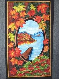 Fall Reflections Lake panel