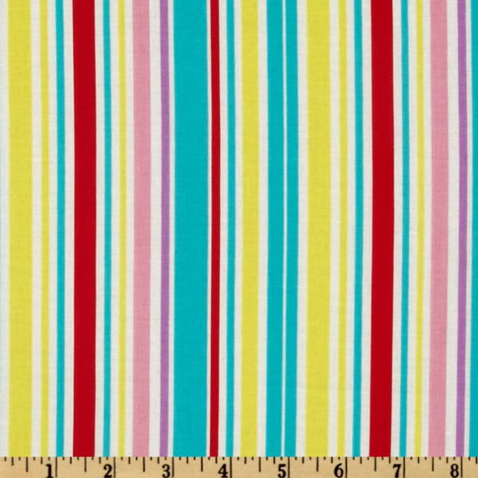 A Happy Rainy Day Stripe Pink 718