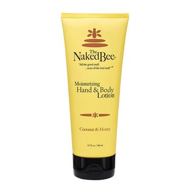 The Naked Bee Hand and Body Lotion - Coconut and Honey 2.25 oz.