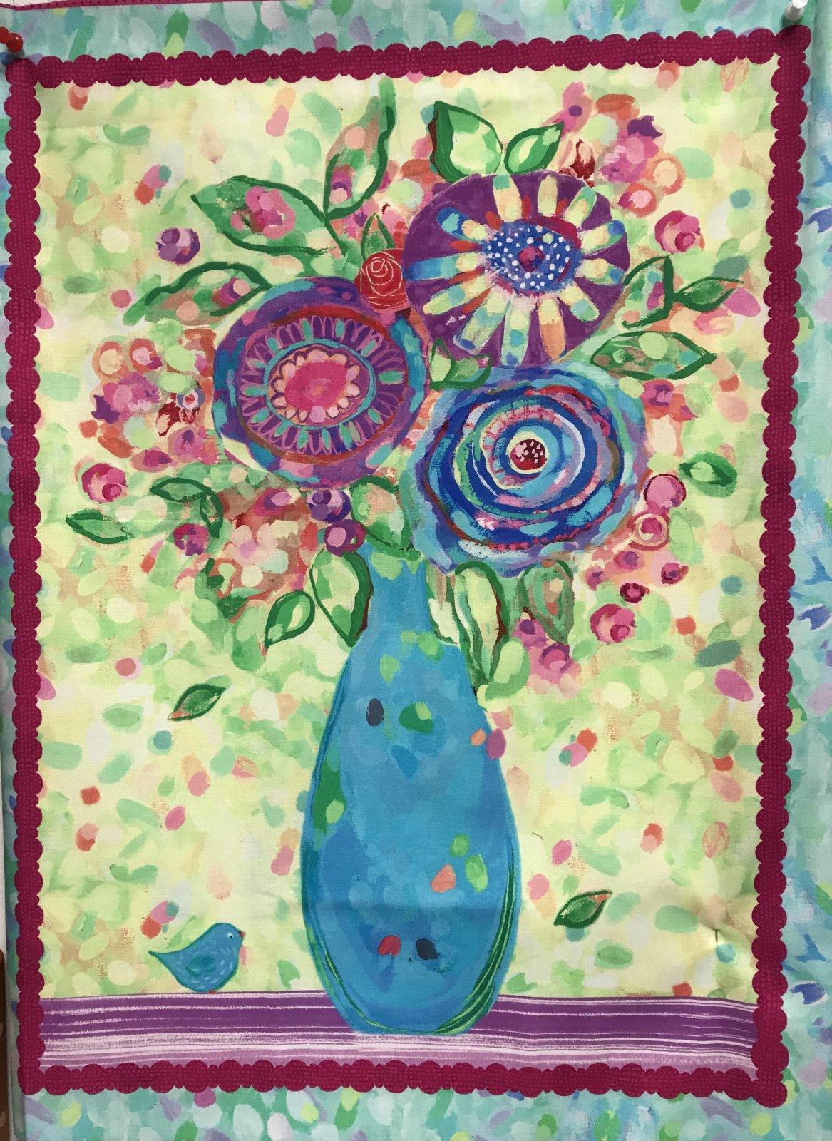 Love in Bloom - Flower Panel
