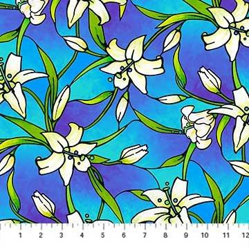 Rejoice Blue Lilies 4241