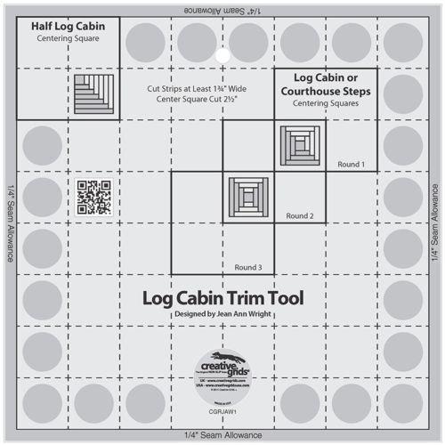 4 inch Log Cabin Trim Tool