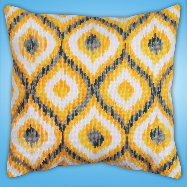 # 2558 Yellow Ikat
