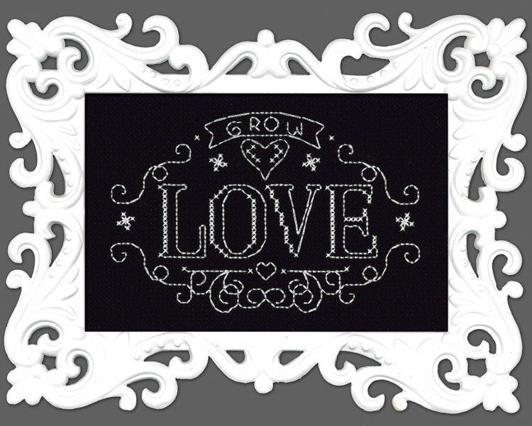 # 2891 - Grow Love Chalkboard